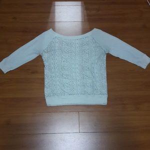 Tops - A cream color shirt